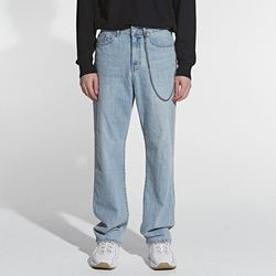 TRENDY WIDE DENIM PANTS DENIM