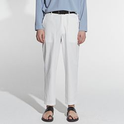 COMFORT COTTON PANTS IVORY