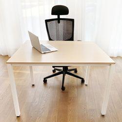 DK9797 스틸프레임 심플 책상 테이블 1000x800
