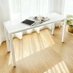 DK9795 스틸프레임 심플 책상 사이드테이블 1000x400