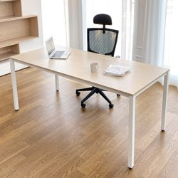 DK9799 스틸프레임 심플 책상 테이블 1800x800