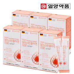 일양약품 엘라스틴 저분자 콜라겐 펩타이드 6박스 (84포)