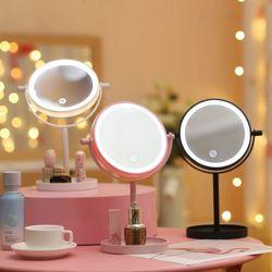 LED 터치 조명 탁상거울