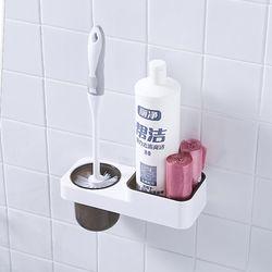 점착식 화장실 변기솔 세트[HY]