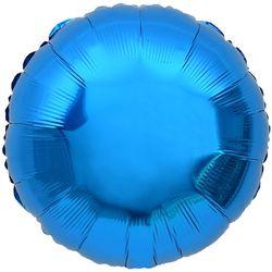 은박 라운드 풍선 18인치 블루