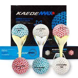 카에데골프공 맥스 3피스 12구 3컬러볼(실버) 골프선물