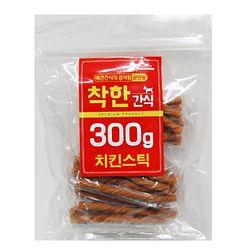 (신선재료) 착한간식 - 치킨스틱 300g (sj)