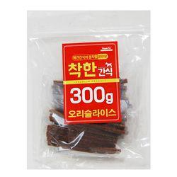 (신선재료) 착한간식 - 오리 슬라이스 300g (sj)