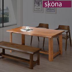 앤케니 참죽 원목 1400 식탁 테이블