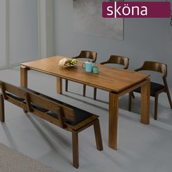 멤피스 참죽 원목 1850 식탁 테이블