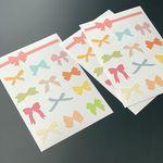 리본 스티커  ribbon stickers