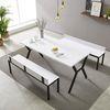 예투가구  네우 4인용 6인용 카페 테이블 세트