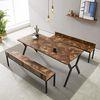 예투가구  네우 6인용 카페 테이블 세트