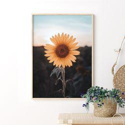 세렌디피티 해바라기 그림 A3 포스터+알루미늄액자