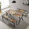 예투가구  네우 4인용 6인용 카페 테이블