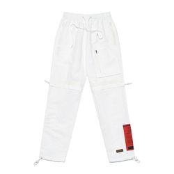 S TECH JOGGER PANTS WHITE
