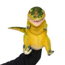 7766-공룡퍼펫(손인형) 티렉스(옐로그린) 50cm.L