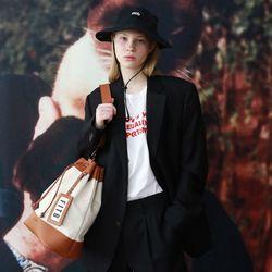 Sister Yoko Bucket Bag (M)(IV-BR)