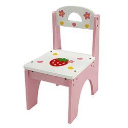[들딸기]디럭스 왕관 화장대 전용 의자