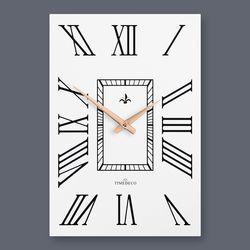 클래식한 디자인에 현대적인 감각을 더한 로마숫자 벽시계