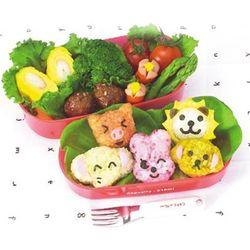 동물모양주먹밥 5종 만들기