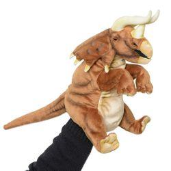7746-공룡(손인형) 트리케라톱스 42cm.L