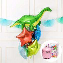 헬륨풍선 부케 공룡 브라키오사우르스 일회용헬륨가스
