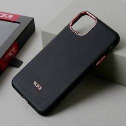 TUMI 아이폰11 프로 맥스 명품 정품 방탄 가죽 휴대폰 케이스
