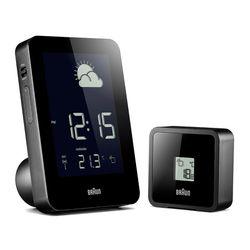 브라운BNC013BK-RC 디지털 글로벌 무선제어 기상관측소시계