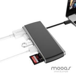 무아스 C타입 USB 멀티허브 P1