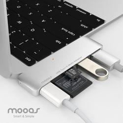 무아스 C타입 USB 멀티허브 A2