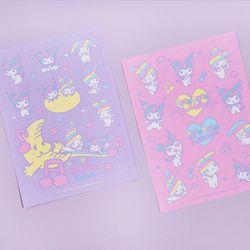 [마이멜로디 쿠로미] Rainbow Melody Sticker