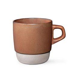 킨토 슬로우 커피 스택 머그 오렌지
