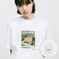 PIANO CAT T-SHIRT WHITE