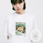 PIANO CAT T-SHIRT WHITE