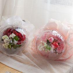 몽블랑벌룬 카네이션 꽃다발 50cmP 조화 FAICFT