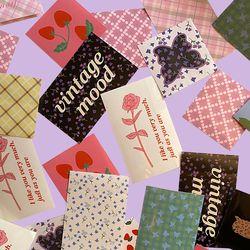 [뮤즈무드] vintage mood muse mood sticker pack