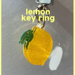 lemon key ring (키링)