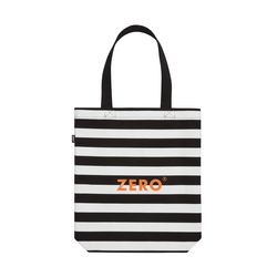 ZERO CANVAS TOTE BAG STRIPE