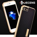 데켄스 아이폰8 플러스 케이스 메탈 범퍼 카본 화이버