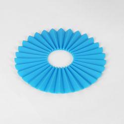 부채살 실리콘 냄비받침(블루)