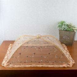 쿠킹 레이스 원터치 밥상보(사각 꽃자수)