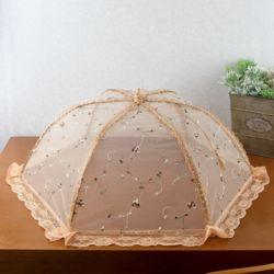 쿠킹 레이스 원터치 밥상보(육각 꽃자수)