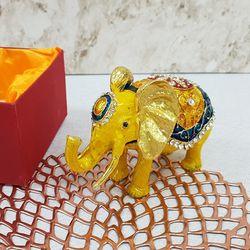 칠보 옐로우 코끼리 (대) (FH3207)