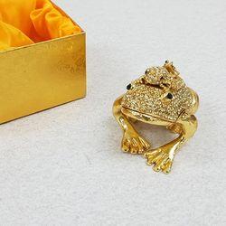 칠보 골드 두꺼비 (FH3316)