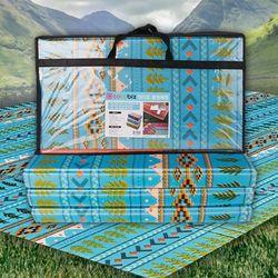 인디오 캠핑매트 블루 200x240