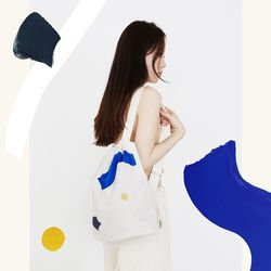 COLOR WAVE BAG BLUE