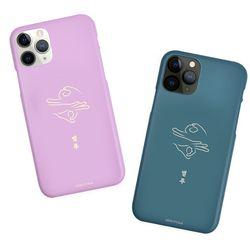 나인어클락 드로잉 응 슬림 하드케이스 - LG G7(G710)