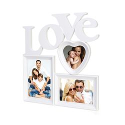 거실 벽 인테리어 사진 포토 화이트 액자 프레임 장식 LOVE 대형