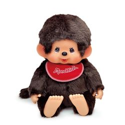 Premium Standard Super Soft Monchhichi Brown Boy L